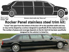 """For 2006-2011 CADILLAC DTS Limousine 46"""" Stretch 10 PC SS Rocker Panel Trim, Low"""