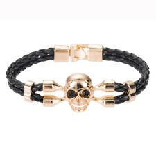 Skull Bangle Punk Bracelet Men's Belt Wristband Fashion Bangle New