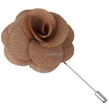 Fashion Unisex 1PC Vintage Style Rose Flower Brooch Lapel Pins Clothes WST