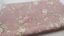 100% Cotton Floral Rose Fabric Rose and Hubble Vintage, Sewing, Quilting, Craft
