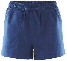 New Ladies' Casual Shorts Elasticated Side Pockets Polyester 8 10 12 14 16 18