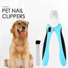 Professional Pet Dog Cat Nail Clipper Stainless Steel Toe Claw Scissor