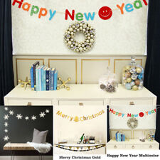 3M Paper New Year Christmas Hanging Decor Indoor Outdoor Garland Home Ornament