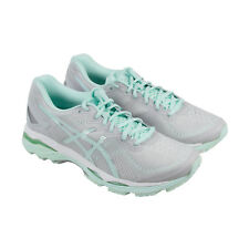 Asics Gel Kayano 23 Mens Gray Synthetic Athletic Lace Up Running Shoes