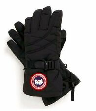 Canada Goose Down 5151L Black Gloves XS S M Womens 600 Fill Down