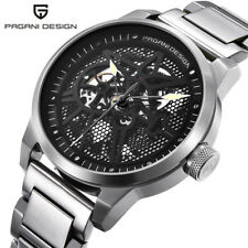 PAGANI DESIGN 3ATM Water Resistant Automatic Self-Wind Men Army Wrist Watch