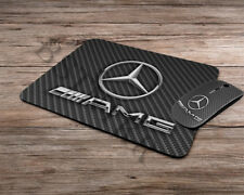 AMG Mercedes logo emblem wireless computer optical mouse + mousepad mouse pad