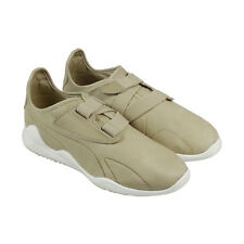 Puma Mostro Premium Mens Tan Nubuck Strap Sneakers Shoes