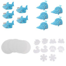 Anti-slip Mat Pad Non-Skid Adhesive Shower Stickers Appliques Treads 4 Shapes