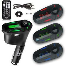 1/3Color Car Kit MP3 Player Wireless FM Transmitter Modulator USB SD MMC LCD UPS