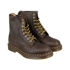 Dr. Martens 1460 Mens Brown Leather Casual Dress Lace Up Boots Shoes