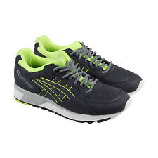 Asics Gel Lyte Speed Mens Gray synthetic & Suede Athletic Running Shoes
