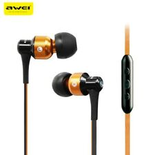 3.5mm In ear Headset Headphones Stereo Earphone With Mic & Controller For iPhone