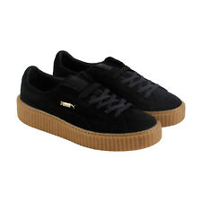 Puma Mens Fenty by Rihanna Black Suede Creepers 36217802 Sneakers Shoes