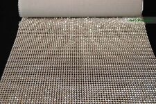 1 Meter Silver and Gold Crystal Rhinestone Mat Trims,1, 2 and 4 Rows, Craft Cake