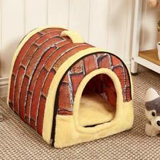 Winter Dog House Kennel Nest With Mat Foldable Pets Bed Cat Beds Travel Pet Bags