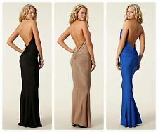 BNWT HONOR GOLD New £85 Fishtail Sexy Towie Club Party Long Gown Maxi Dress