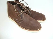 NEW! Red Wing Chukka Boots Java Brown #4577 Suede USA 1st Quality
