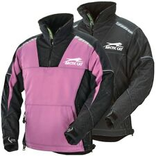 Arctic Cat Women's Backcountry Uninsulated Mountain Pullover Jacket Purple Black