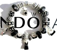 Authentic PANDORA Silver Charm Bracelet with Charms FRIDAY NIGHT EE75