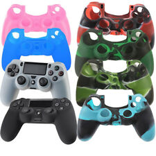 Soft Silicone Rubber Cases Gel Skin Cover For Sony PlayStation 4 PS4 Controller