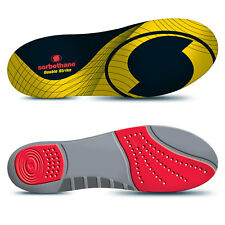 Shock Stopper Double Strike Insoles BY Sorbothane - Alleviates Arch Pain