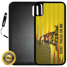 Case for iPhone X 10 8 8 Plus + Galaxy Note 8 LG G6 - Dont Tread On Me Best Flag