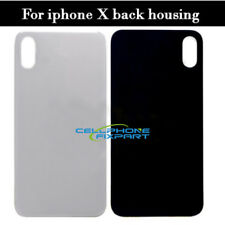 For iPhone X Back Battery Cover Rear Door Housing Glass + Back Tape Adhesive