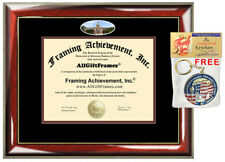 Friends University Diploma Frame campus photo College Degree Certificate Gift