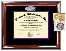 High Point University Diploma Frame campus photo College Degree Certificate Gift