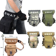 Men Army SWAT Multiduty Outdoor Leg Drop Utility Bag Thigh Pack Fanny Pack 2017