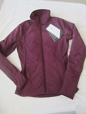 NWT Lululemon Women Run For Cold Full Zip Jacket Plum Size 4 $198. FREE SHIPPING