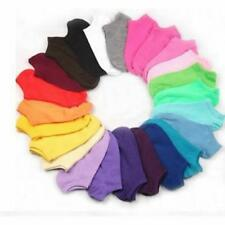 10Pair Women's Socks Short Candy Color Dot Cute Bow Cotton Thin Ankle Sock New