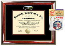 Norwich University Diploma Frame campus photo College Degree Certificate Gift