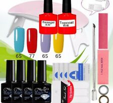 Professional Nail Art Set Handy Portable Use Dryer Gels Other Care Essential Kit