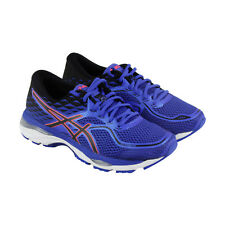 Asics Gel Cumulus 19 Womens Blue Mesh Athletic Lace Up Running Shoes