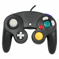 Wired Shock Video Game Controller Pad for Nintendo GameCube GC&Wii Black GiftLjq
