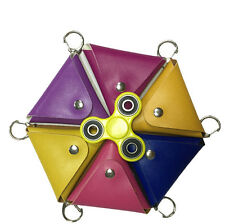 Triangle Storage Bag For Fidget Hand Spinner Toy  Protection Case Anti-FF iy