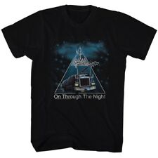 Def Leppard 80s Heavy Metal Band Rock n Roll On Through The Night Adult T-Shirt