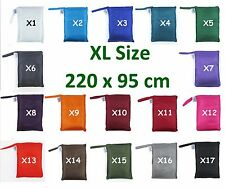 TREKSILK EXTRA LARGE Single Silk Liner Bag Sleeping Hostel Sheet Outback Outdoor