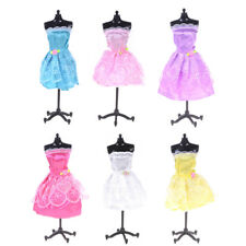 1PCS Fashion Princess Party Dress/Evening Clothes/Gown For Barbie Doll Gifts