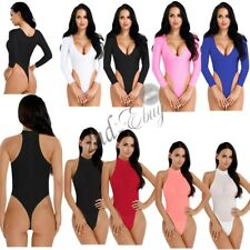 Sexy Sissy Women Lingerie Wetlook Sheer Thong Swimwear High Cut Leotard Bodysuit