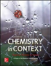 Chemistry in Context (WCB Chemistry) 8th Edition College Textbook