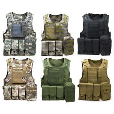 Tactical Vest Mens Tactical Hunting Vests Military Field Airsoft Molle Combat