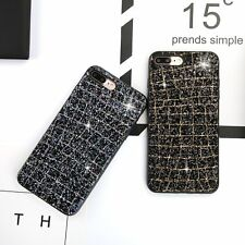 Luxury Bling Glitter Diamond Case Silicone ShockProof Cover For iPhone 6 7 8 X