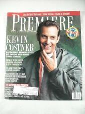 OCT 1990 PREMIERE THE MOVIE MAGAZINE KEVIN COSTNER DANCING WITH WOLVES