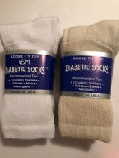 Women's Diabetic Crew Socks Size 9-11 ( 6 Pair Combinations ) New, Free Shipping