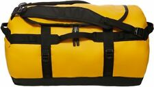 THE NORTH FACE Base Camp Duffel Bag/Backpack Summit Gold TNF Black Sz M/L NWT