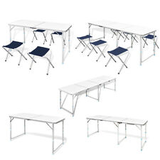 New Foldable Camping Table Height Adjustable 5 Models Selectable Picnic Outdoor✓
