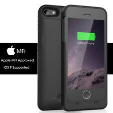 External power bank Charger backup battery case MFI iphone 6 6s plus 5 5S SE